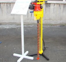 Мотобур КМ-10